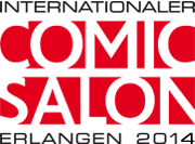 Logo in Farbe. © Internationaler Comic-Salon Erlangen