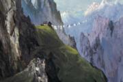 """""""Fernweh"""" aus : Land der Berge. © Rudi Hurzlmeier"""