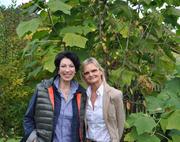 Hedi Grager im Interview mit Iris Vermillion. © 2013 Reinhard A. Sudy
