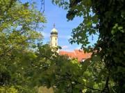 Blick von der Murpromenade zur Franziskanerkirche. © 2016 Reinhard A. Sudy