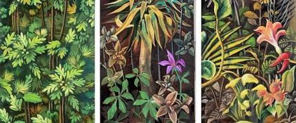 Trilogie. Jahresausstellung 2017 Garten Eden / Das Kunstmuseum Waldviertel. Fotocredit: IDEA