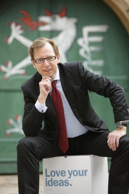 """""""Den größten Input für die Steiermark erreichte ich, als wir Wirtschaft und Wissenschaft mit dem Kompetenzzentrumprogramm näher zusammengebracht haben."""" Foto: Schiffer"""