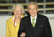 Univ.-Prof. Dr. Wolfgang Köle mit seiner Gattin Dr. Eva Köle. Foto: Martin Stelzer/Universitätsklinik für Chirurgie