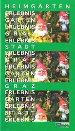 Heimgärten. Broschüren-Cover der Stadt Graz