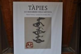 Antoni Tapies-Ausstellung 2013 im Palazzo Fortuny. Foto: Grager/Sudy