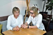 Camilla Torpe und Hedi Grager. © 2018 Reinhard A. Sudy