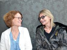 Ulrika Wedberg und Hedi Grager. © 2018 Reinhard A. Sudy
