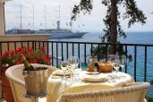 Restaurant-Terrasse des Hotels Miramar. Copyright: Hotel Miramar - Opatija