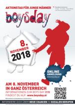 BOYS' DAY Plakat. © Sozialministerium
