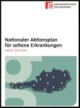 Cover-Seite des Nationalen Aktionsplans für seltene Erkrankungen.