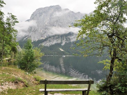 Altausser See-Nordufer mit Blick auf die Trisselwand. © 2019 Reinhard A. Sudy
