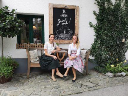 Valerie und Theresia Graf, Pürgg. © 2019 Reinhard A. Sudy