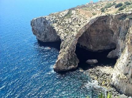 Blaue Grotte Wied iz-Zurrieq, Malta. © 2018 Reinhard A. Sudy