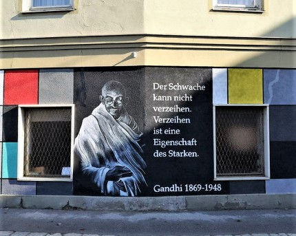 Graffiti-Wand in der Feuerbachgasse, Graz. © 2019 Reinhard A. Sudy