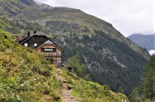 Gollinghütte (1.643 m). © 2017 Reinhard A. Sudy