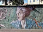 Graffiti-Wand in der Hackhergasse, Graz. © 2019 Reinhard A. Sudy