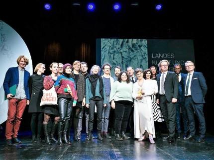 Landes-Kunst- und Kulturpreise Verleihung 2019. © Clara Wildberger