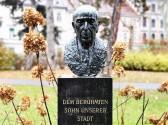 Robert Stolz-Büste im Grazer Stadtpark. © 2019 Reinhard A. Sudy