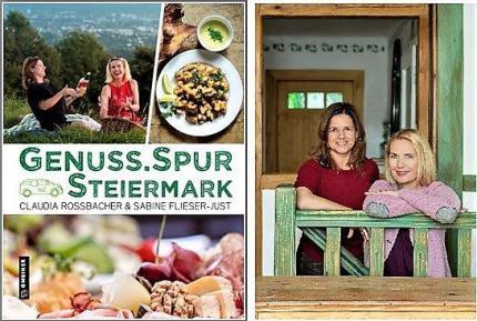 Buch-Cover. © GenussSpur Steiermark | Sabine Flieser-Just und Claudia Rossbacher © GenussSpur Steiermark, Lucija Novak