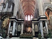 Der barocke Hochaltar der St.-Bavo-Kathedrale, Gent. © 2019 Hedi Grager