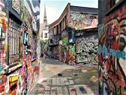 Graffitistraat alias Werregaren Straat. © 2019 Reinhard A. Sudy
