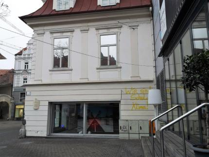 Vorplatz HDA und Kunsthauscafe, Graz. © Reinhard A. Sudy