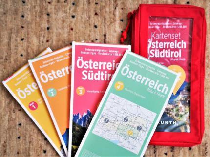 Kartenset Österreich Südtirol | Kunth Verlag. © Reinhard A. Sudy