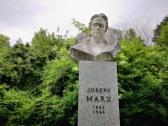 Joseph Marx-Büste im Grazer Stadtpark. © 2020 Reinhard A. Sudy