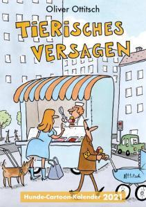Cover des Hunde-Cartoon-Kalenders 2021
