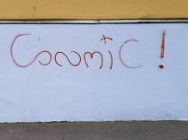 'Cosmic' - Schriftzug im Grazer Leonhard-Viertel. Copyright: Reinhard A. Sudy