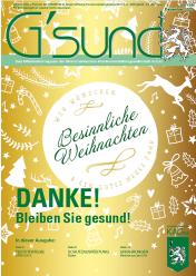 Cover von G'sund Nr. 108 | Dezember 2020